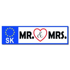 ŠPZ Mrs & Mr