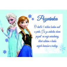 Pozvánka - Frozen 001
